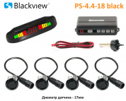 Blackview PS-4.4-18 BLACK - парктроник